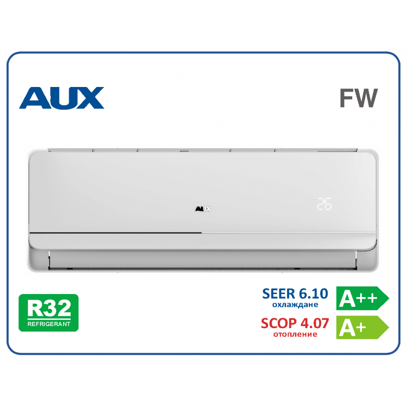 Инверторен климатик AUX ASW-H09B4/FWR3 DI-EU