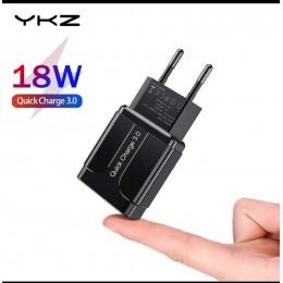 Зарядно устройство YKZ 18 W Quick Charge USB 3.0