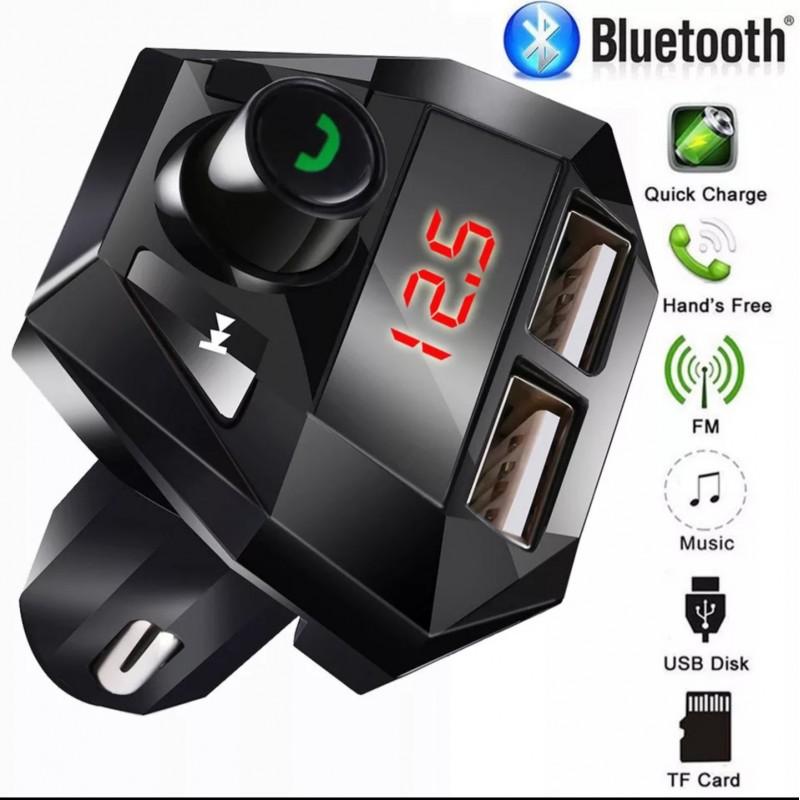 Автомобилен FM Трансмитер с EDR Bluetooth 3.0