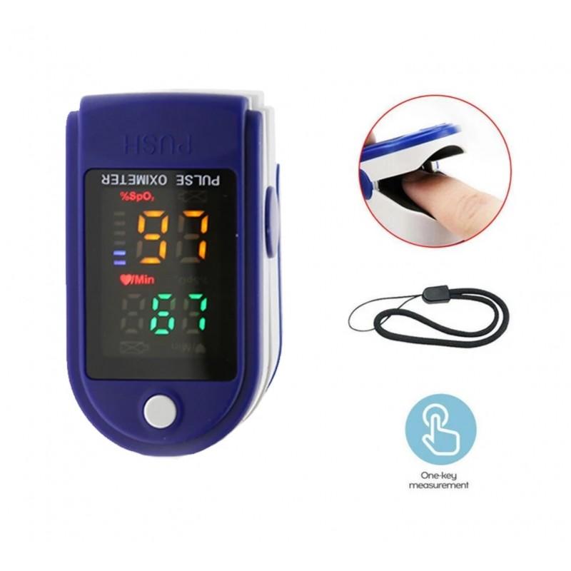 Уред за измерване на пулс и кислород в кръвта OXIMETER